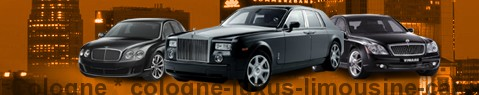 Luxury limousine Cologne | Limousine Center Deutschland